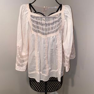 Anthropologie boho swing top